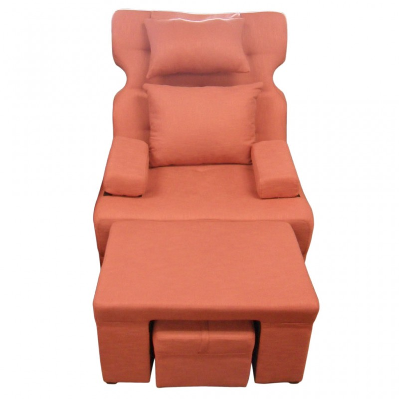 612e Fabric Motorized Massage Sofa Removable Armrest
